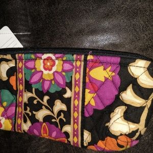 VERA BRADLEY - SUZANI PATTERN - BRUSH & PENCIL BAG